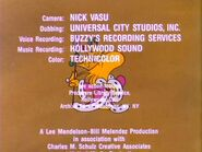 King Woodstock on Credits Screan