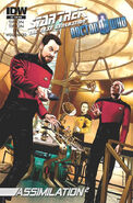 TNG Who issue 2 cover RIB
