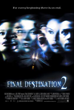 Final destination 2 poster