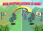 Jade Falls Shipping License Loading Screen