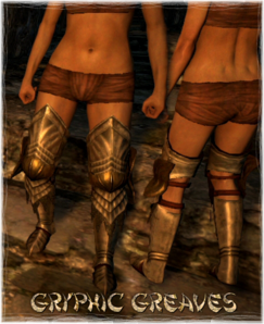 Armour Legs Gryphic Greaves