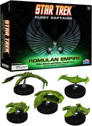 Star Trek Fleet Captains Romulan Empire Expansion Pack