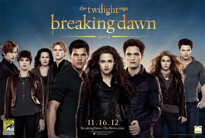 Twilight Breaking Dawn Part2 Poster