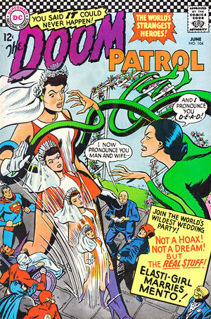 Cover for Doom Patrol #104