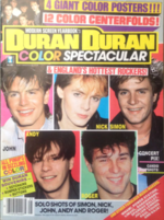 Modern Screen Year book - Magazine duran duran wikipedia australia