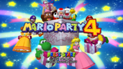 Title Screen - Mario Party 4