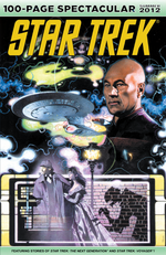 Star Trek 100-Page Spectacular Summer 2012 cover