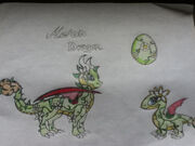 My dragonvale melon dragon by shadowstar146-d5g9avm
