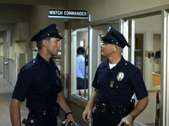 Adam 12 Bloopers http://tvdatabase.wikia.com/wiki/Adam-12:_Log_141:_The_Color_TV_Bandit