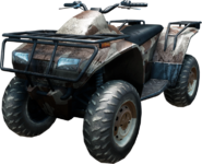 Battlefield 3 Quad Bike HQ Render