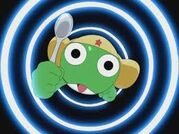 Keroro going big.