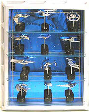 Franklin Mint Star Trek Solid Sterling Silver Starships Collection