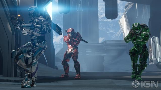 "Halo 4 ""Abandon"" Multiplayer Map Walkthrough With 343i"
