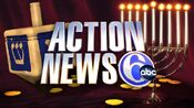 WPVI-TV's Channel 6 Action News' Happy Hanukkah Video ID From December 2011