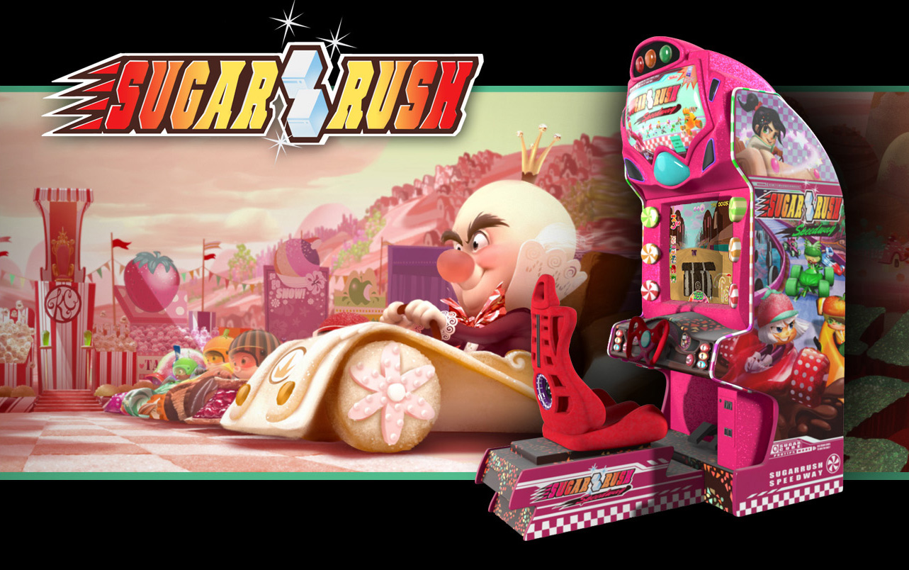 Sugar Rush - Wreck-It Ralph Wiki