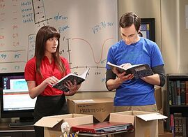 TBBT 6x03 Sheldon and Alex
