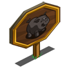 Pot Belly Pig Mastery Sign-icon