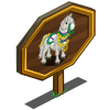 Beaded Horse Mastery Sign-icon