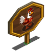 Lunar New Year Chicken Mastery Sign-icon