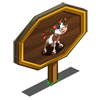 Rose Calf Mastery Sign-icon