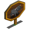 Lowline Cow Mastery Sign-icon