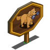 Golden Retriever 2 Mastery Sign-icon