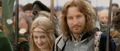 Faramir and Eowyn during coronation.png