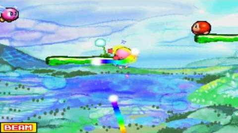 Kirby Canvas Curse - Level 1 Reddy Land - Plant Plain