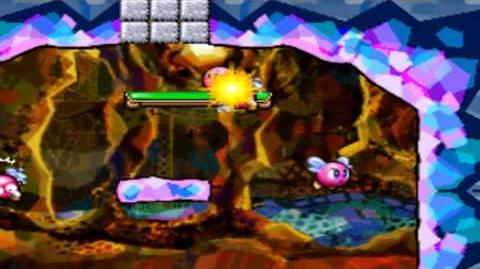Kirby Canvas Curse - Level 5 Bloo Hills - Dungeon Dome