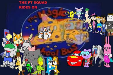 The FT Squad Rides on the Magic School Bus
