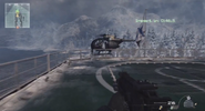 Little Bird extraction Arctic Recon MW3