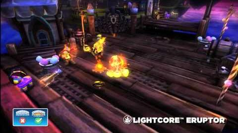 Skylanders Giants Lightcore Eruptor HD Trailer