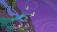 Pegasi fly while other four tumble down S1E02