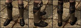 DA2 Rough Leather Boots - rogue starting gear medium boots