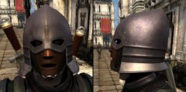 DA2 Henchman Cowl - act 1 medium helmet