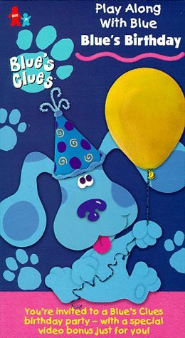 Blue's Birthday (VHS) - Blue's Clues Wiki