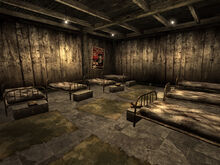 NCR Ranger safehouse beds