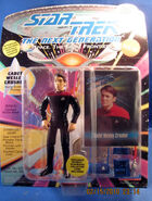 Playmates 1993 Wesley Crusher