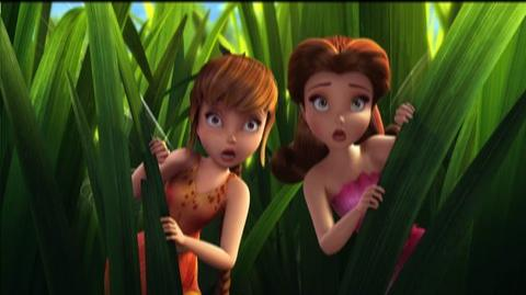 Tinker Bell and the Great Fairy Rescue (2010) - Interstitial Pixie Preview No Croaking Around