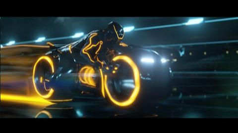 Tron Legacy (2010) - Clip Light Cycle Races