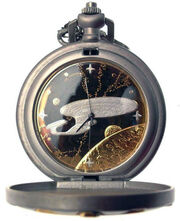 Franklin Mint USS Enterprise-D Pocket Watch