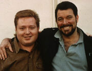 Eric Stillwell and Jonathan Frakes
