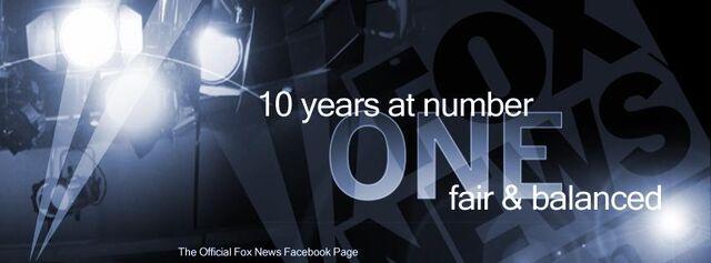 Fox news fair and balanced logo