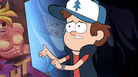 S1e10 dipper talking to game