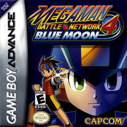 Mega Man Battle Network 4 Blue Moon (NA)