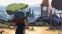 S1e10 dipper and robbie at park