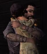 Clementine Lee Hugging