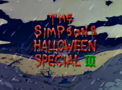 Watch The Simpsons 405 Treehouse of Horror III