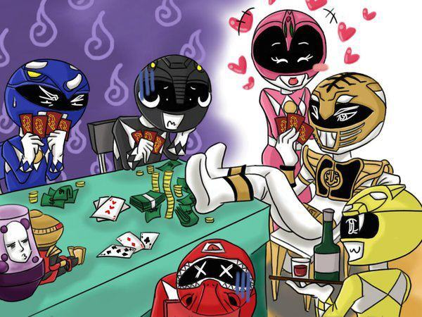 Power Ranger Poker