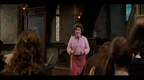 Harry Potter and the Order of the Phoenix - The new curriculum